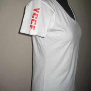Naisten t-paita valkoinen S